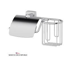 Держатель туалетной бумаги с крышкой и освежителя FBS (Чехия) ESP 053