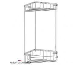 Полочка-решетка угловая двухъярусная 18/18 см FBS (Чехия) RYN 003