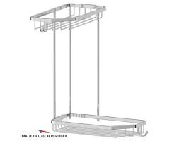 Полочка-решетка угловая двухъярусная 20/20 см FBS (Чехия) RYN 013