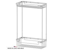 Полочка-решетка двухъярусная 20/20 см FBS (Чехия) RYN 020