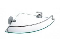 Полка стеклянная угловая Fixsen (Чехия) FX-61303A