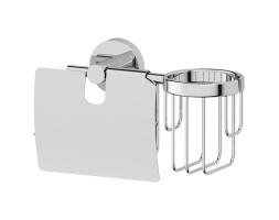 Держатель туалетной бумаги с крышкой и освежителя ARTWELLE (Германия) HAR 051