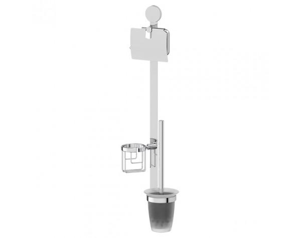 Комплект для туалета со стеклянным ершом ARTWELLE (Германия) HAR 054