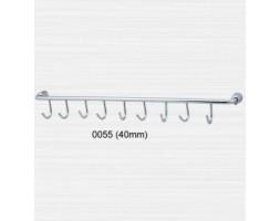 Крючки на трубке 10 крючков Rainbowl (Турция) Aqua 0055