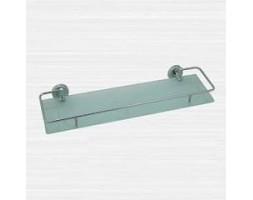 Полка стекло 40 см с ограничителем Rainbowl (Турция) Long 2253-3