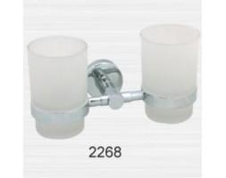 Держатель двойной со стаканами Rainbowl (Турция) Long 2268