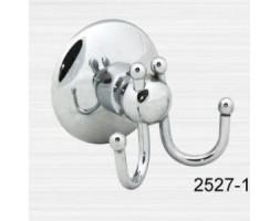 Крючок халата двойной малый двойной Rainbowl (Турция) Otel 2527-1