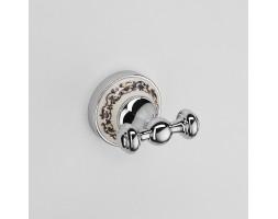 Крючок двойной Schein (Германия) Saine Chrome 7053002