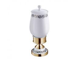 Контейнер керамический настольный Schein (Германия) Saine Gold 7053057VF