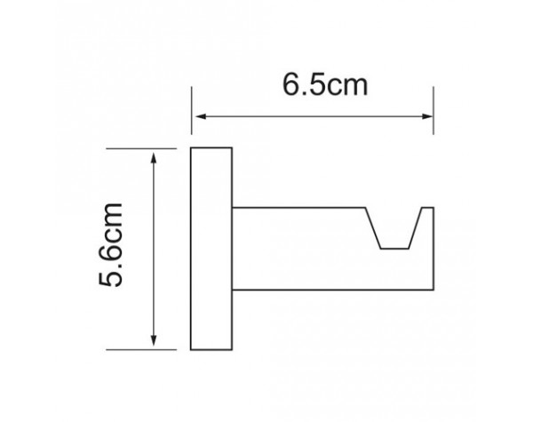 Крючок WasserKRAFT (Германия) Isen 4023