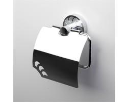 Держатель туалетной бумаги с крышкой WasserKRAFT (Германия) Isen 4025