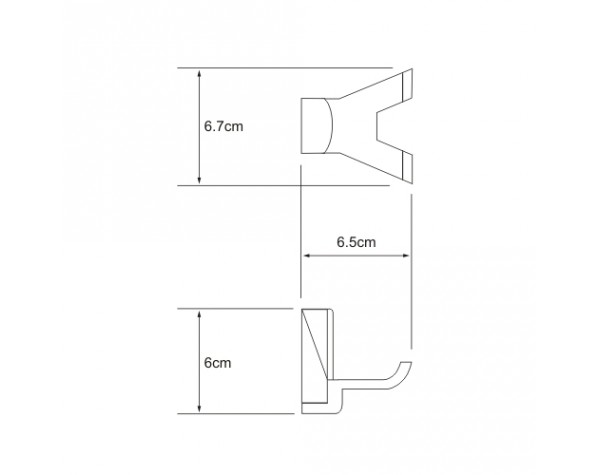 Крючок двойной WasserKRAFT (Германия) Leine 5023