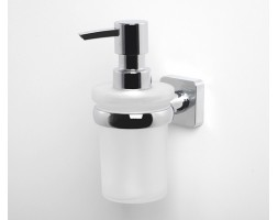 Дозатор для жидкого мыла стеклянный WasserKRAFT Lippe 6599