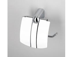 Держатель туалетной бумаги с крышкой WasserKRAFT (Германия) Berkel 6825