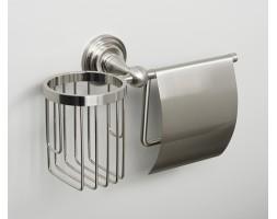 Держатель туалетной бумаги и освежителя WasserKRAFT (Германия) Ammer 7059