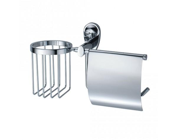 Держатель туалетной бумаги и освежителя WasserKRAFT (Германия) Main 9259