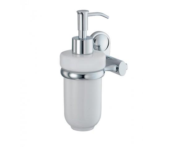 Дозатор жидкого мыла навесной керамический WasserKRAFT (Германия) Main 9299C