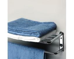 Полка для полотенец с нижним держателем 64см WasserKRAFT (Германия) 888