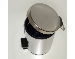Ведро для мусора 5л с педалью WasserKRAFT (Германия) 635
