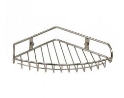 Полка металлическая угловая матовый хром WasserKRAFT 1511
