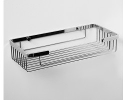 Полка металлическая прямая 27,5см WasserKRAFT 722