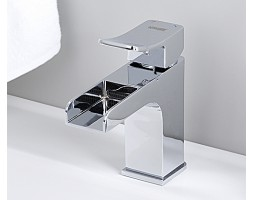 Каскадный смеситель для умывальника WasserKRAFT (Германия) Aller 1069