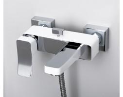 Смеситель для ванны с коротким изливом WasserKRAFT (Германия) 1061White