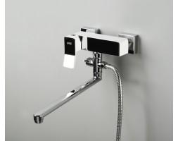 Смеситель для ванны с длинным изливом WasserKRAFT (Германия) 1062L White