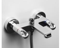 Смеситель для ванны с коротким изливом WasserKRAFT (Германия) Lossa 1201