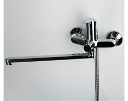 Смеситель для ванны с длинным изливом 350мм WasserKRAFT (Германия) Isen 2602L