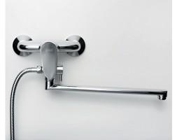 Смеситель для ванны с длинным изливом WasserKRAFT (Германия) Leine 3502L