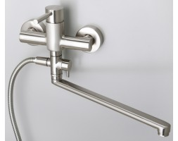 Смеситель для ванны с длинным изливом WasserKRAFT (Германия) Wern 4202L