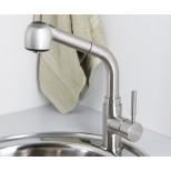 Смеситель для кухни с выдвижной лейкой WasserKRAFT (Германия) Wern 4266