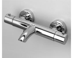 Термостатический смеситель для ванны с коротким изливом WasserKRAFT (Германия) Berkel 4811