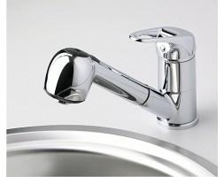 Смеситель для кухни с выдвижной лейкой WasserKRAFT (Германия) Oder 6365