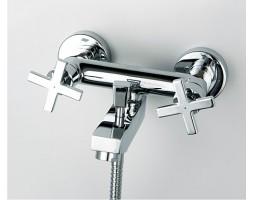 Смеситель для ванны с коротким изливом WasserKRAFT (Германия) Weser 7801