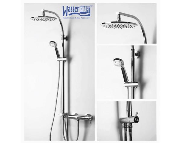 Стойка для душа раздвижная WasserKRAFT (Германия) A025